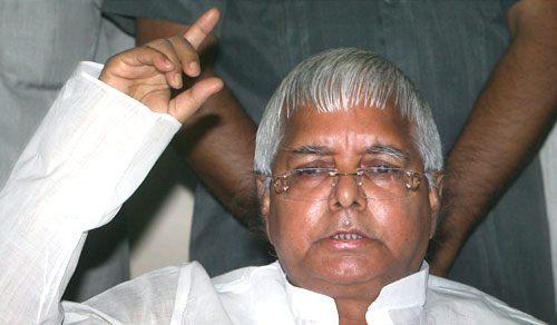 Lalu stands for Rahul as Prime Minister