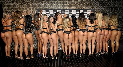 Brazilian Model wins Miss Bumbum title