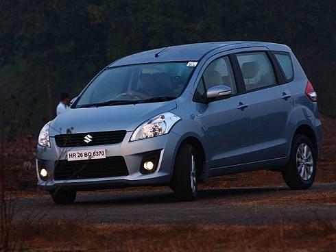 Maruti Suzuki comes up with CNG powered Ertiga