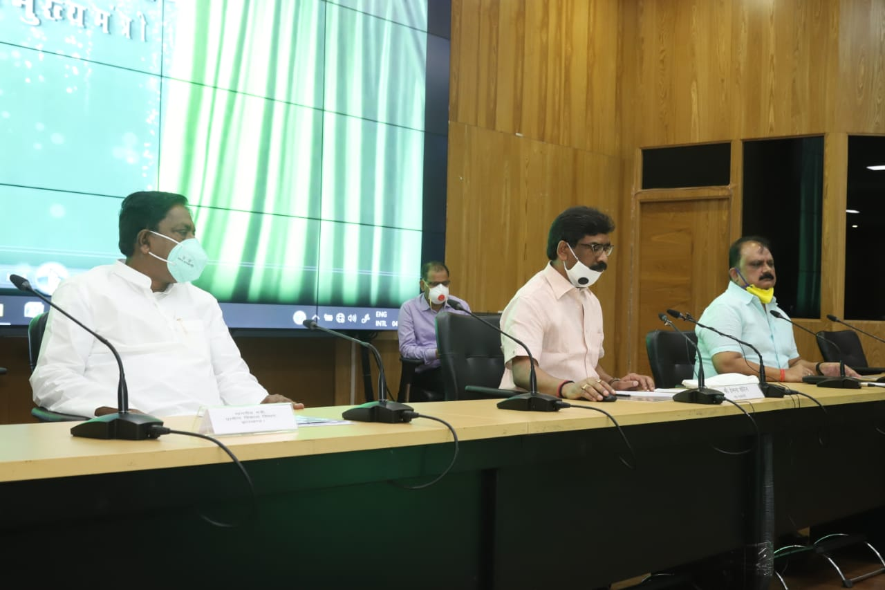 Three rural schemes for water, sports and health launched in Jharkhand
