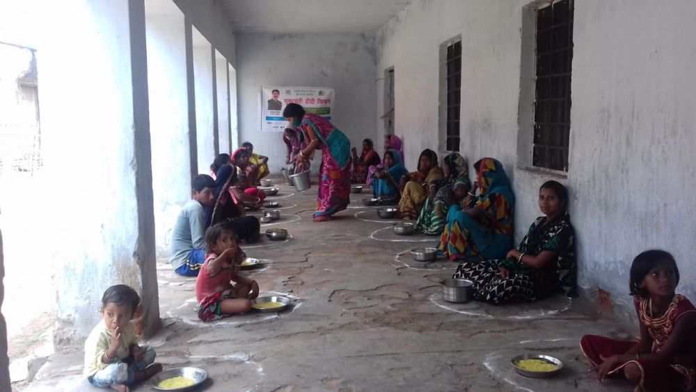 CM Didi Kitchens suppress hunger in Jharkhand