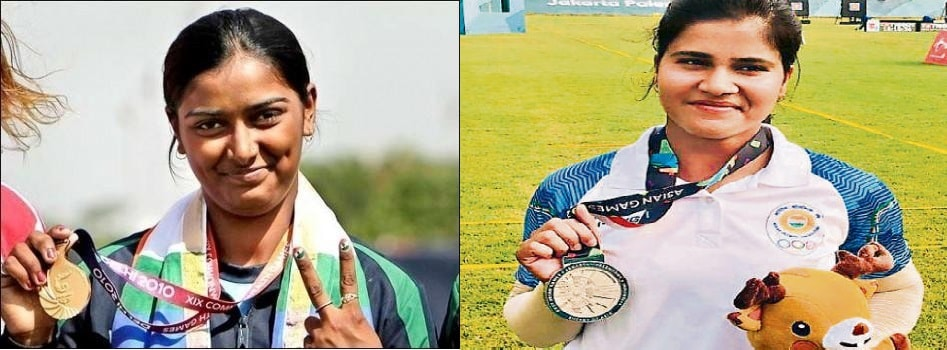 Two women archers-Deepika & Madhumita- bring laurels