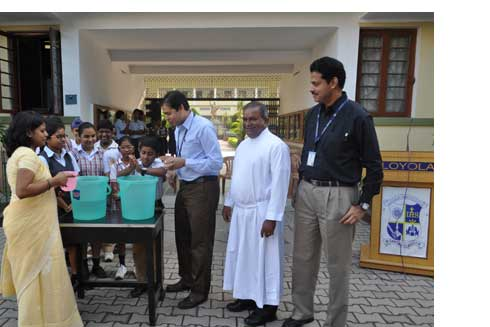 UNICEF motivates students to hand wash with soap, prevent deaths