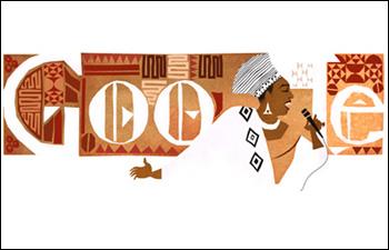 Google honours 'Mama Africa'