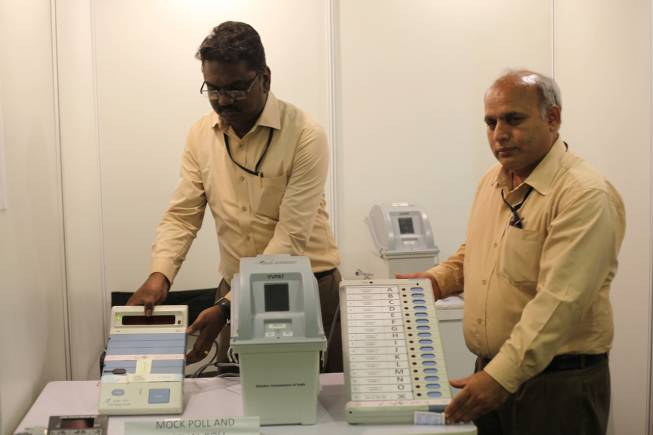 ECI to use VVPATs with EVM in General Elections 2019