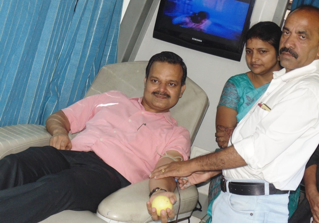 Every healthy person should donate blood without any hesitation: Dr. Sunil Kr Barnwal