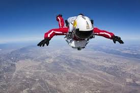 Supersonic skydiver sets record- 38 km, 4 minutes and 1,342 kmph in one jump from heaven