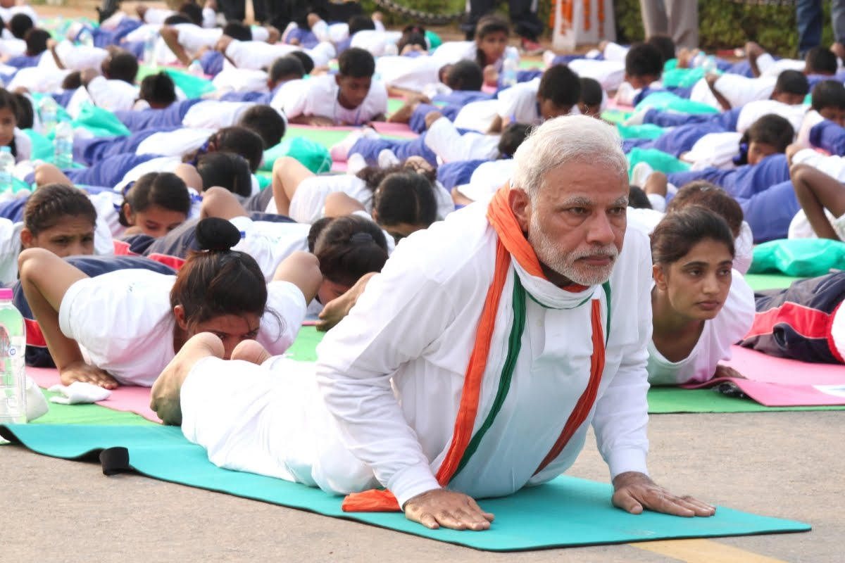 Fifth International Yoga Day-PM Modi to lead it in Ranchi