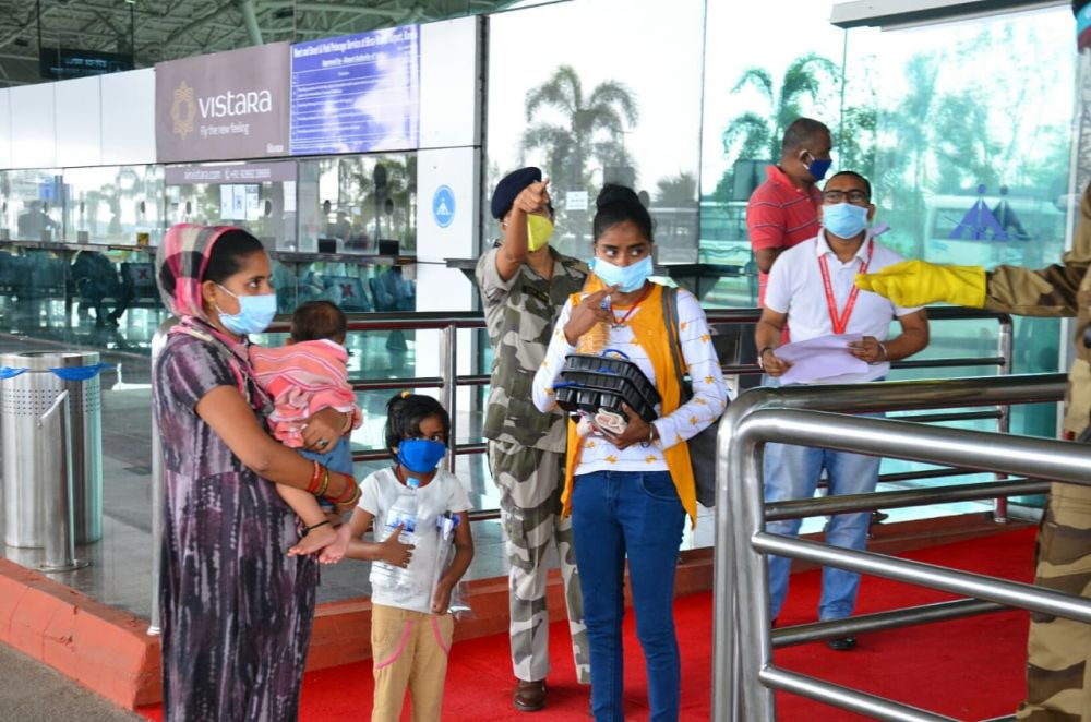 Plain truths about home coming of Jharkhandi migrants by AirAsia flight