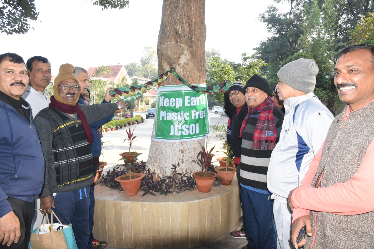 'Keep Earth Plastic Free' campaign launched at JCSOI