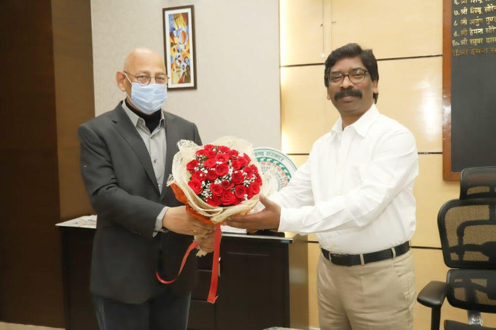 JPSC Chairman Meets Jharkhand CM