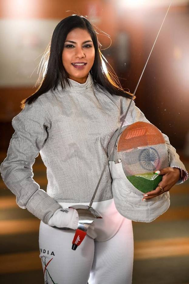 india-s-first-olympic-bound-fencer-bhavani-devi-thanks-parents-for-sustaining-her-dream