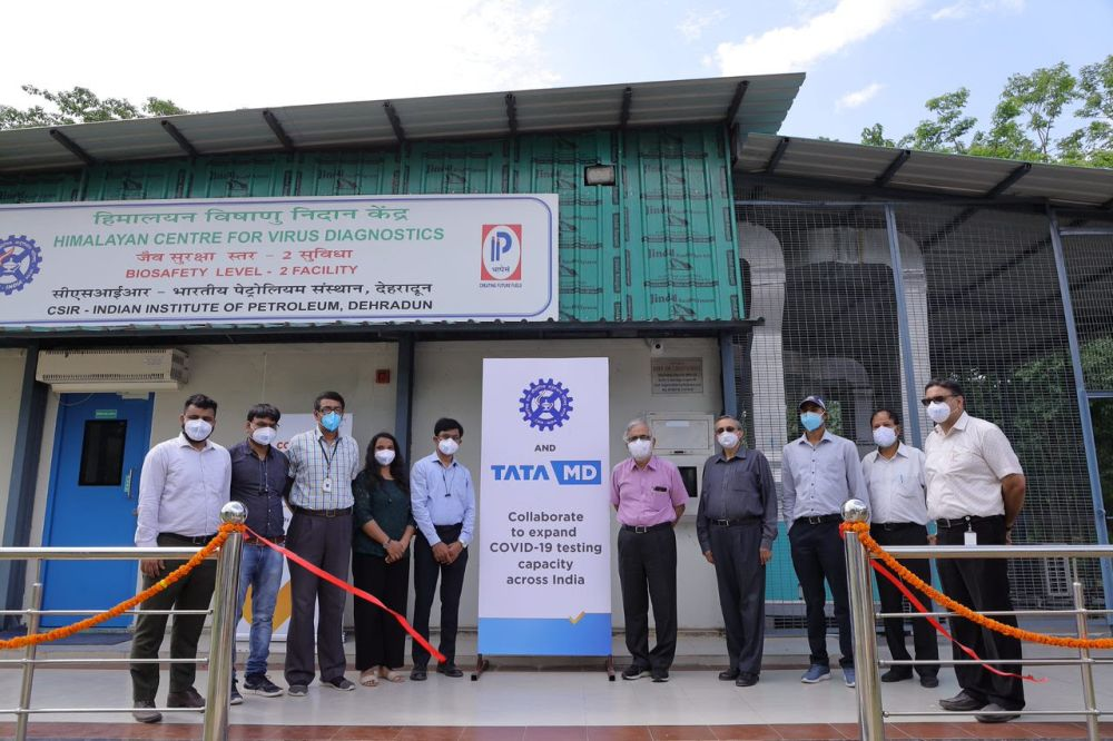 CSIR and Tata MD partner to make COVID-19 detection centres across small towns in India
