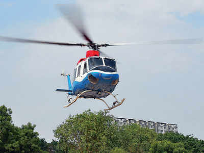 private-chopper-service-introduced-for-vrindavan-kumbh-fair