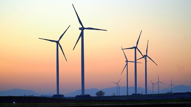 Most equipments used in generation of Wind Power manufactured in India
