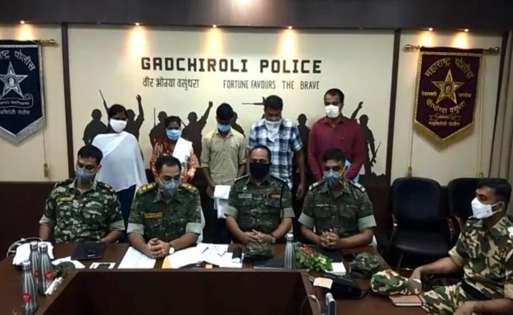 mr-mrs-naxal-of-gadchiroli-nabbed-by-police