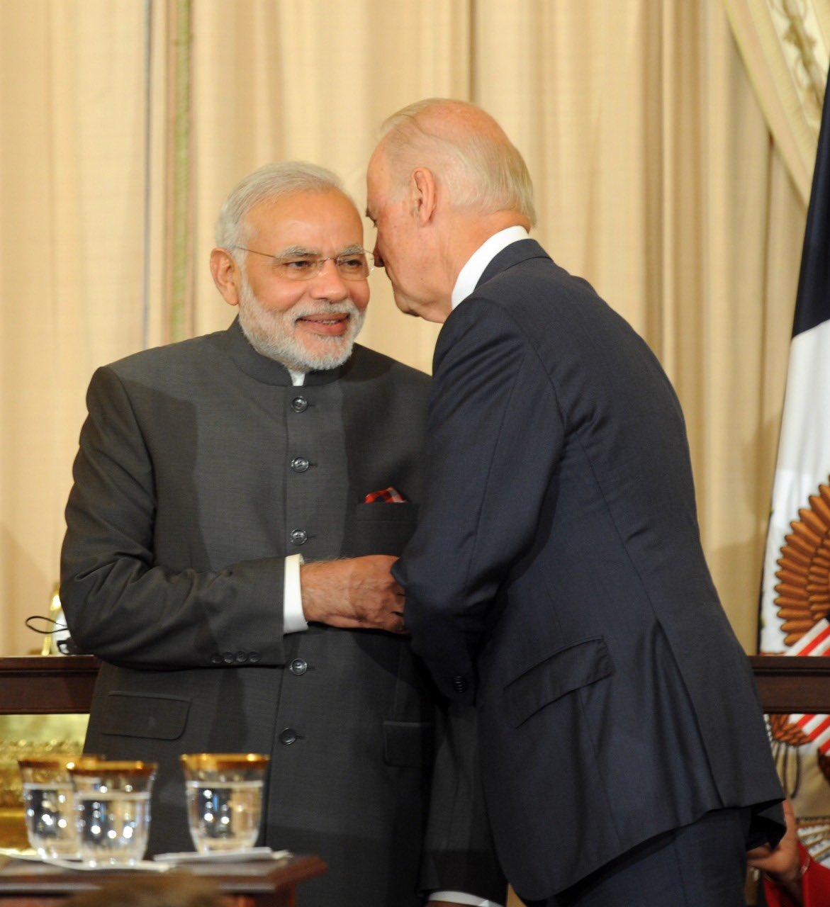 Top leaders of India greet victory of Joe Biden