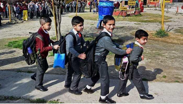 Remove students' bag burden by installing lockers in govt schools