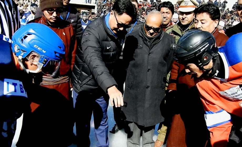 kiren-rijiju-attends-khelo-india-winter-games-in-ladakh