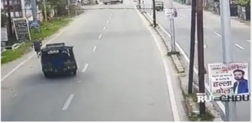 Death of Dhanbad Judge: CCTV footage shows him jogging when the auto rammed him, drove off