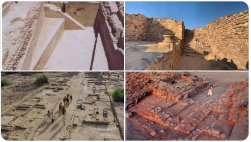 Harappan city in the Rann of Kutch located Dholavira inscribed on UNESCO's World Heritage List