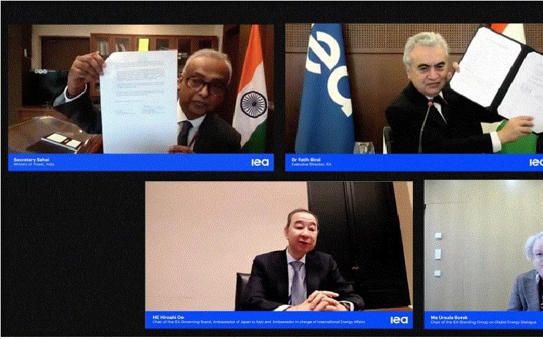 India inks Strategic Partnership Agreement IEA